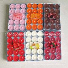 Variedade de cores e aromas Tealight velas
