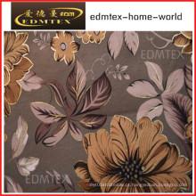 Tecido de cortina com estilo impresso preço barato EDM0570