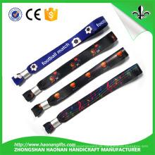 Benutzerdefinierte hohe Qualität und Festival Fashion Fabric Armband