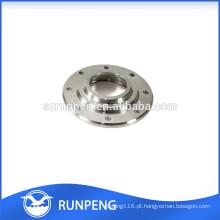 Acessórios de aço inoxidável fazendo à máquina da elevada precisão do OEM do CNC