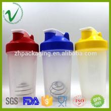 2016 новых продуктов BPA бесплатный спортивный белок пустой пластиковый шейкер радойкер бутылка для оптовой продажи