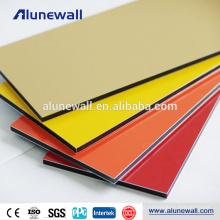 2M Width PVDF Wall decoration Panel Aluminium Composite Panel