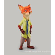 Lindo animal personalizado PVC figura de acción niños juguetes de muñeca