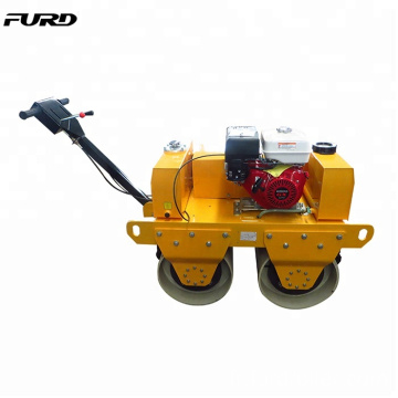 China Made 550kg Honda Double Drum Walk Behind Baby Road Roller (FYL-S600)