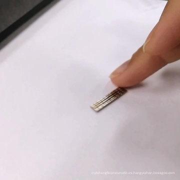 Imán del sensor de la función del neodimio del mini cilindro sinterizado N52