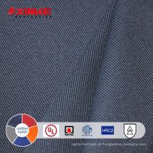 Tecido de retardante de fogo de algodão / Nylon para roupas de proteção