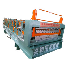 CE certifié en Chine en double couche en tôle de toit galvanisé en forme de rouleau