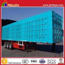 3axles Container Type Bulk Cargo Trailer