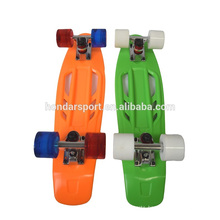 2016 newest design plastic skateboards with low price wholesale