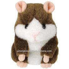 Venta al por mayor de fábrica de repetición de mascotas Talking Hamster Toy