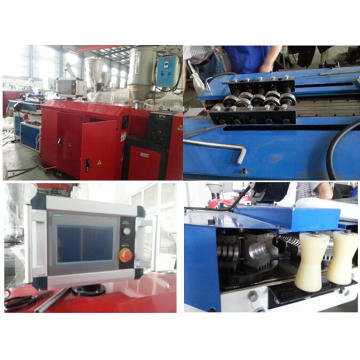 Línea de producción de tubos corrugados escalable