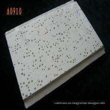 Junta acústica de techo de fibra mineral para decoración de interiores