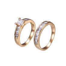 15603 Xuping Jewelry Fashion 18K Gold Color Couple Ring Of Hot Sale