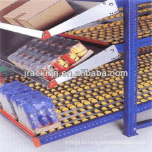 Commercial stainless steel shelves,Colored steel gear carton flow rack