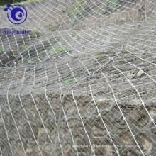 Sistema de protección de taludes activo / Red de malla espía de araña / Red de caída de rocas
