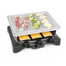 Electric Table Grill with Stone Plate