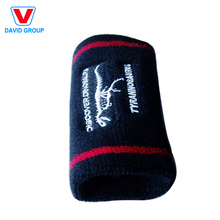 Small Moq Promotional Sports Long Wristband Terry Sweatband