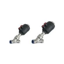 Válvulas de asiento angulares de la serie 2J de Ningbo ESP neumáticas