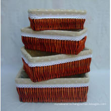 (BC-WB1025) High Quality Handmade Natural Willow Basket/Gift Basket