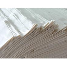 T / C 90/10 45 * 45 110 * 76 Tela gris / blanca