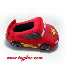 Plush Cartoon Animation Car Slipper