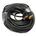 Позолоченный кабель VGA SVGA Кабель HD15 для монитора Проектор ТВ 1,5 м, 1,8 м, 2 м, 3 м, 5 м, 10 м, 20 м, 30 м, 40 м, 50 м