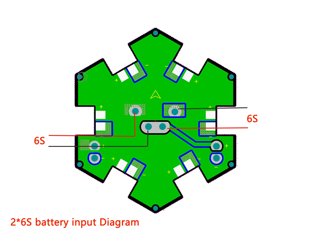 PDB-200 Power HUB diagram
