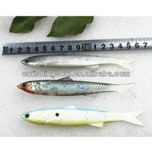 SLL032 14cm 13g de haute qualité pêche douce leurres en plastique leurres de pêche