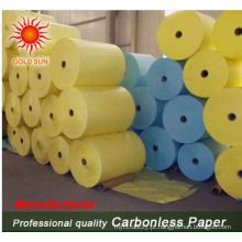 Rolo de papel autocopiativo com alta qualidade