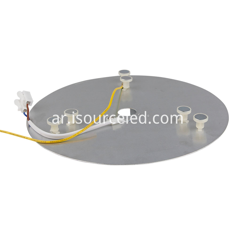 Base plate of 220V 24W AC COB Module for Ceiling Light