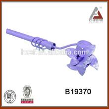 drapery rod set/simple curtain pole/double curtain rod 16/19mm 25/28mm
