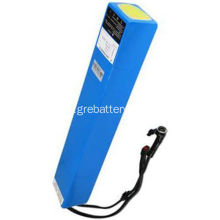 Paquet de batterie de 48V 10Ah Lithium Ion E Scooter