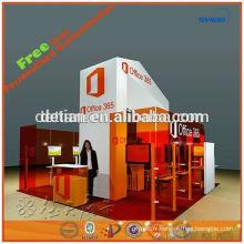 Stand d'exposition portable modulaire de stand de foire d'exposition de conception de présentoir d'exposition et de fournisseur d'exposition de fournisseur