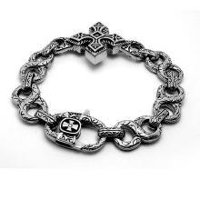 Cross Design Classic Design Men Punk & Rock Cuban Pulseras Body Jewelry
