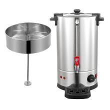 Electric stainless steel coffee dispenser tea urn
