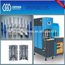 Alta estable Semi automático plástico PET botella máquina de soplador