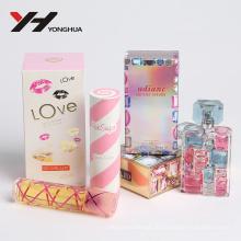diamante e gem estilo biling biling brilhando rosa perfume caixa de papel
