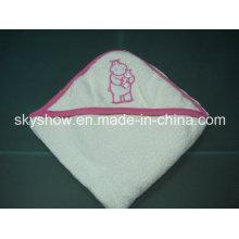 Toalla con capucha de algodón de los cabritos (SST0303)