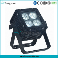 Im Freien DMX 4X15W Ostar RGBW LED flaches PAR