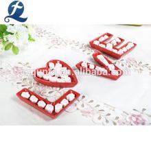 Набор посуды для микроволновой печи Красный керамический набор посуды для романтического ужина