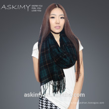 2015 factory supply new design check scarf