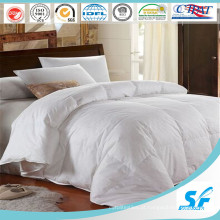 100% Algodão Roupa de cama macia em branco de alta qualidade