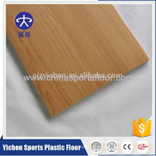 Yichen pvc plastic floor wood grain carpet