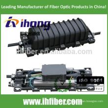 Cierre de empalme horizontal / en línea de fibra óptica de 2 in - 2