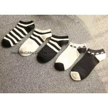 Customize Black and White Design Fashion Casual Socks
