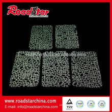 Fashion Design reflective mesh Raw Material For Shoes