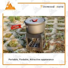 Площадь стиль портативный складной открытый кемпинг дровяная печь