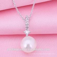 2018 Fabrik Großhandel Schmuck neue Design Perlenkette Rhodium überzogene Schmuck ist Ihre gute Wahl