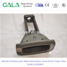 Hochwertige OEM-Metalle Gießklappe für Gas