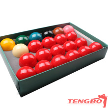 Factory direct selling high-end snooker ball TB-T-10 phenolic resin balls